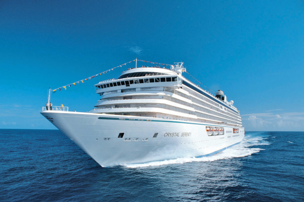 Crystal Serenity Trendsetter Travel & Cruise